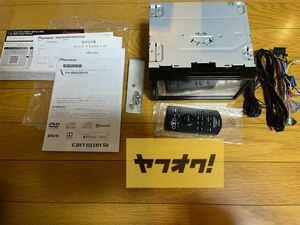 ★美品★ カロッツェリア carrozzeria FH-8500DVS 6.78V型ワイドVGAモニター/DVD-V/VCD/CD/Bluetooth/USB/チューナー・DSPメインユニット