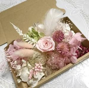 ブライダルピンクローズ*花材詰め合わせセット