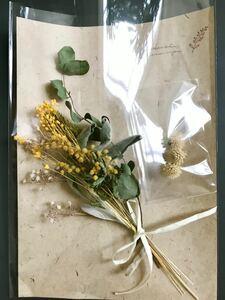 ドライフラワー花材アソートセット*ミモザイエロー花材
