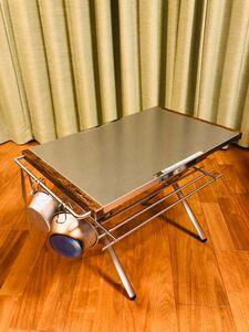 【新品未使用】ユニフレーム焚き火テーブル用カスタムパーツ2点セット