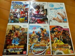 Wiiソフト6点まとめ売り