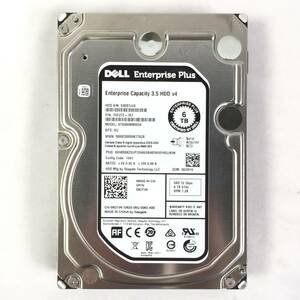 S372462 DELL 6TB SAS 12Gbps 7.2K HDD 3.5 -inch 1 point [ used operation goods, several exhibition 3]...