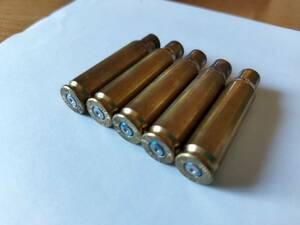 フェデラル カートリッジ 308口径 空薬莢 5個