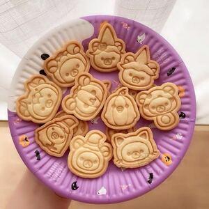 14点セット!クッキー型 菓子 チョコレート バレンタイン 手作り ハロウィン 型抜き 製菓 キャラ弁 弁当 クッキング 熊 リラックマ お弁当