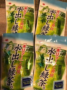 静岡川根茶 夏人気 抹茶入水出し茶 農家直売 (我が家の無農薬ニンニクおまけ付き)
