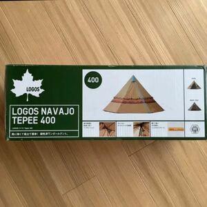 【新品未開封】LOGOS ロゴス NAVAJO TEPEE 400 テント ナバホ柄 テント アウトドア キャンプ BBQ