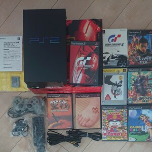 PS2 PlayStation 2 GT3 Racing Pack (SCPH-35000) グランツーリスモ +8本セット