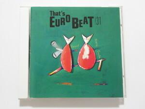 THAT'S EUROBEAT vol.31ザッツユーロビート 【CD】送料無料