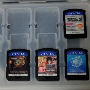 PS Vita ソフト 4タイトル