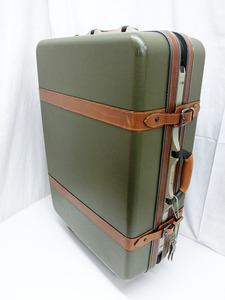 [Используется] Samsonite / Samsonite Чехол чемодан чемодан Путешествия назад Большая большая мощность 4 колеса Antique [MK27072103]