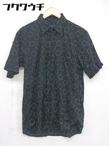 ◇ agnes b アニエスベー 半袖 シャツ サイズ3 ブラック メンズ 1107010004932
