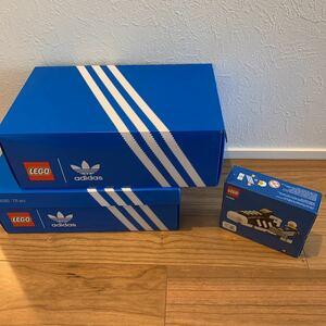 レゴ LEGO 10282 アディダス adidas 靴 2個 両足可能 新品未開封 40486 ミニキット スーパースター スニーカー 限定非売品 3点セット