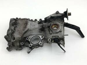 _b65824 ダイハツ タント カスタムRS CBA-L375S エンジン フロントカバー プーリー タイミング チェーン KF-DET L385S