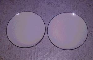 大皿 2枚 セット Noritake MONTBLANC 7527 花柄 お皿 食器 プレート ノリタケ ギフト 昭和 レトロ ファンシー 雑貨 まとめて tvs