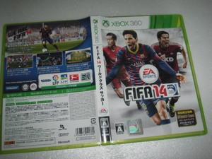 中古 XBOX360 FIFA14 ワールドクラス サッカー 動作保証 同梱可