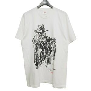 Supreme×Yohji Yamamoto Pour Homme 2020AW Scribble Portrait Tee Tシャツ 8071000070517