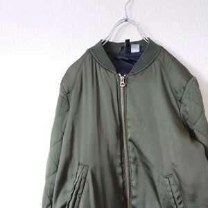 H&M フライトジャケット MA1 ブルゾン エイチアンドエム /N5040