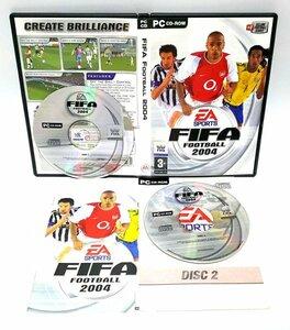 【同梱OK】 FIFA Football 2004 / レトロゲーム / Windows / FIFA公認のサッカーゲームソフト