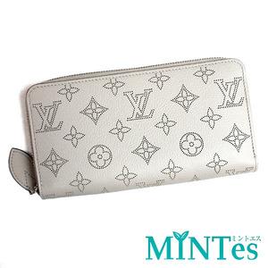 Louis Vuitton ルイヴィトン マヒナ ジッピーウォレット ラウンドファスナー長財布 M68670 ブリューム レディース 女性 エレガント 白