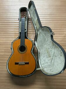 MASARU KOHNO/ 河野賢 LUTHIER No15 1971 クラシックギター現状品