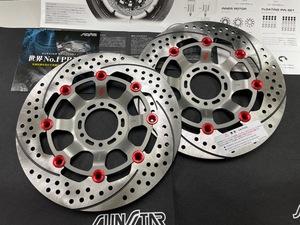 日本製 NSR250R NSR250R SE SP サンスタープレミアムレーシング セミフローティングモデル sunstar EC503 国産未使用左右セット