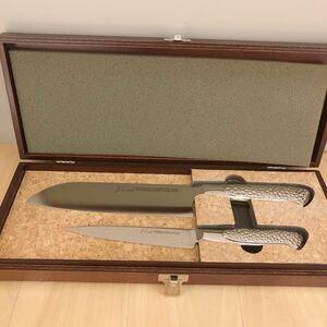 未使用品 包丁セット ペティナイフ 三徳包丁 ジェー・コーラル クッキングナイフ