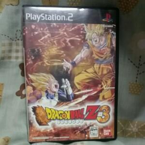 ドラゴンボールZ3 PS2ソフト