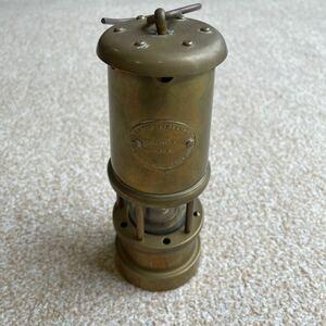 vintage カンブリアンランタン キャンドルランタン 炭鉱 ランタン オイルランプ 真鍮製