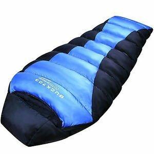 3?x l Goose Down Sleeping Bag Large 225?cmキャンプバックパッキングMumm(新品未使用品)