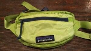 patagonia ライトウェイト トラベルミニヒップパック ゲッコーグリーン lw travel mini hip pack