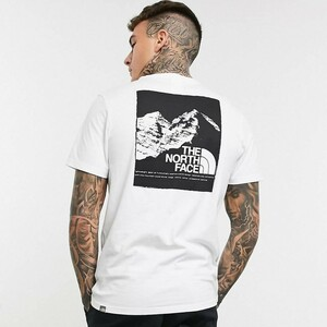 海外限定品 THE NORTH FACE ノースフェイス Tシャツ ホワイト