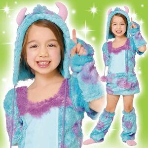 在庫限りディズニーコスチューム子供女の子用トドラーサイズサリーモンスターズユニバーシティワンピース仮装 4580370950960(MCD)