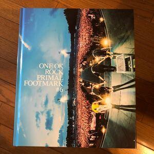 ONE OK ROCK 写真集 PRIMAL FOOT MARK #6 ワンオクロック 2017