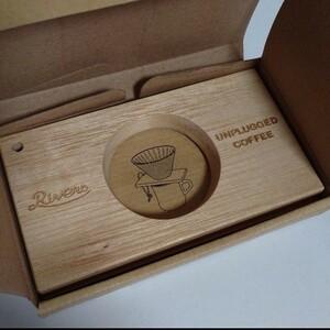 【新品未使用】リバーズ コーヒードリッパー ホルダー 木製 アウトドア ポンド3