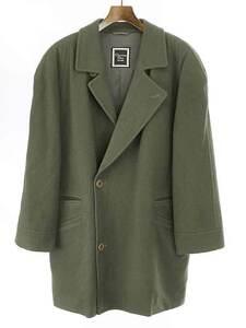 Christian Dior Monsieur クリスチャンディオールムッシュ カシミヤ混2Bウールジャケット カーキ M メンズ