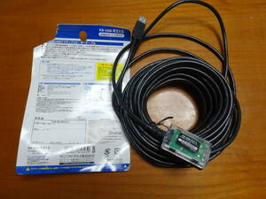 SANWA SUPPLY サンワサプライ 12m延長USBアクティブリピーターケーブル KB-USB-R212