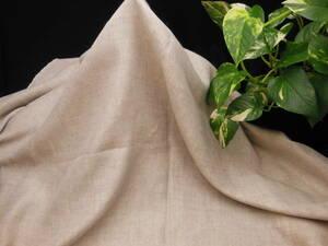 新入荷!掘り出し品!日本製!高級ブランドオリジナル!なかなか手に入らない!先染め!中厚ソフトリネン&ポリ!変わり織り145cm巾×1,5m