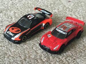 絶版トミカ トミカ G'ZOX・SSR・ハセミ Z & トミカ R35 GT-R レーシング