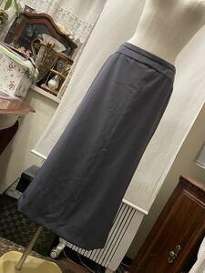 ユナイテッドアローズ ストレッチ おしゃれグレー ロングスカート
