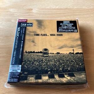 【未開封】オアシス/タイム・フライズ... 1994-2009(初回生産限定盤)[CD 2枚に、初回限定DVD+CDの4枚組]