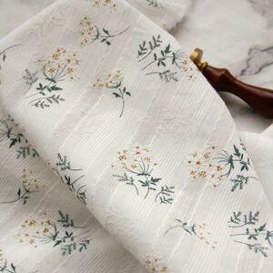 コットンレース 刺繍レース コットン100% 綿100% はぎれ 白