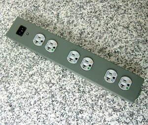 上物 美品 使用僅少 PS AUDIO 電源タップ 3P6個口 JUICE BAR オーディオグレード コンセント代名詞 POWER PORT計3個搭載の実力機 ③