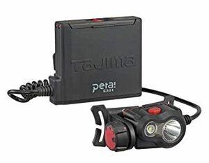ブラック 300lm タジマ(Tajima) ペタLEDヘッドライトE301ブラック 明るさ最大300lm(50lm時18h点灯