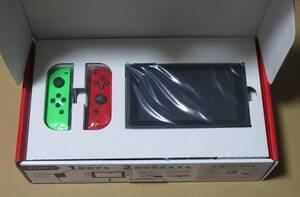 国内正規品 Nintendo Switch 本体 カスタマイズ ネオングリーン レッド ニンテンドー スイッチ 新品未使用 マイニンテンドー 限定