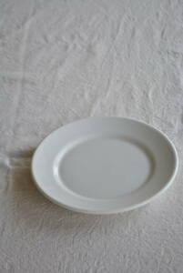 フランス 厚手 ビストロディナープレート /アンティークブロカントビンテージ蚤の市雑貨小物ヨーロッパインテリア食器
