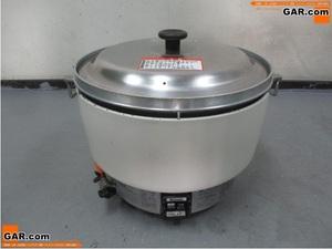 ニ79 リンナイ 業務用 LPガス用 5升炊き ガス炊飯器 RR-50S1 10L 厨房機器