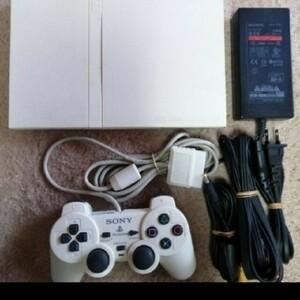 薄型PS2本体 Play Station2(SCPH-70000W)ホワイト