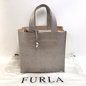 FURLA フルラ トートバッグ シルバー レディース ブランド