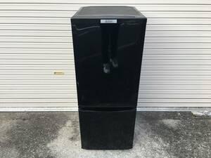 三菱 MITSUBISHI ERECTRIC MR-P15C-B 冷凍冷蔵庫 ブラック 146L 2017年製 新生活 家電 一人暮らし 単身赴任 2ドア 動作確認済み