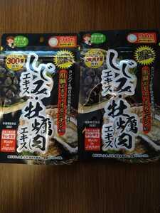 しじみエキス・牡蠣肉エキス サプリメント 2袋